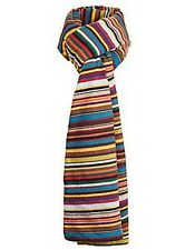 Paul Smith SIGNATURE STRIPES CASHMERE WOOL BLEND SCARF