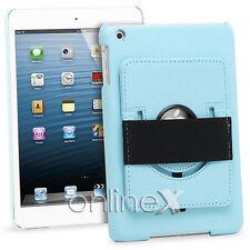 Funda Piel para iPad 2, 3, 4, 10.1 Soporte Rotatorio Color Azul a746