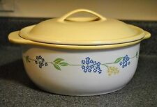 Corelle 2.5 Qt Round Covered Casserole in Secret Garden