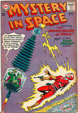 Mystery In Space #83 - Adam Strange & Emotion Master Of Space - (Grade 6.0) 1963