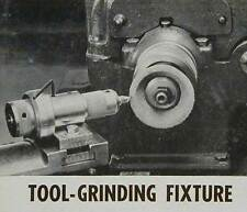 Tool Grinder Jig for Sharpening Lathe tools HowTo build PLANS