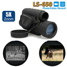 Infrared Dark Night Vision 6X50 IR Monocular Binoculars Telescopes Scope Hunting