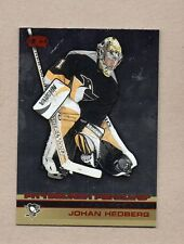 johan hedberg pittsburgh penguins 2002/03 heads up red #98 #50/80 insert card