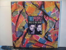 TWO people - This is the Shirt c/w People in Love plus 1 -Vinyl- Free UK Post