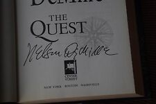 The Quest by Nelson DeMille (2013, Hardcover) SIGNED 1st/1st