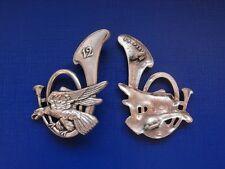 N°27 insigne militaire pucelle armée régiment chasseur infanterie génie etc