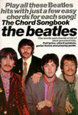 The Beatles Chord Songbook Guitar Sheet Music Book Greatest 60s Hits B51 S78