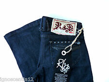 LADIES STUDDED R&B  BOOTCUT JEANS  UK 8 W 29 NEW