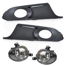 KIT For VW Golf Jetta MK6 2011-2014 Front Bumper Lower Fog Light Grille + Lamps