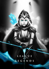 """193 League of Legends - Hot Online Video Game 14""""x20"""" Poster"""