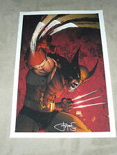 MICHAEL TURNER ASPEN DC MARVEL - XMEN WOLVERINE 3 ART PRINT by MICHAEL TURNER