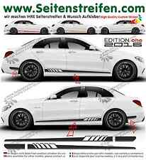 MERCEDES Benz C Classe w205 - 507/EDITION 1 pages Bandes Autocollant set 2016