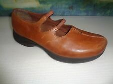 EARTH SHOE Mary Jane Shoes Slip On Brown Womens Size 9.5 Loafers