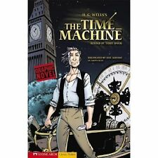 The Time Machine (Classic Fiction)-ExLibrary