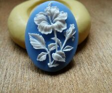 Springtime FLOWER cameo silicone push mold mould  resin sugar craft