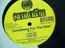 "Shah Crime-Something For The Ride-12"" Single-Empress Music-Vinyl Record-VG+"