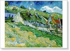 "HERMITAGE MUSEUM. Vincent Van Gogh. Cottages. Fine Art Print NEW 17"" x 24"""