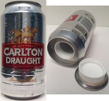 CLEARANCE - Carlton Draught Stash Cans - 375ml Beer Keg Can Diversion Safes