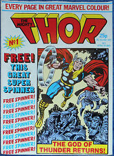 THE MIGHTY THOR  #1~MARVEL COMICS UK~STAN LEE & JACK  KIRBY~1983~THE WRECKER