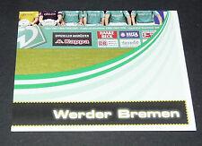 94 MANNSCHAFT P4 WERDER BREMEN PANINI FUSSBALL 2007-2008 BUNDESLIGA FOOTBALL
