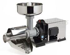 Indici15 Spremipomodoro Elettrico INOX NSP n°5 1200W 1,50HP Professionale Reber