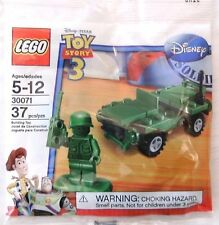 Lego Toy Story Army Jeep 30071 Lot Of 8 New Poly Bag Sets