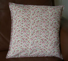 Vintage Shabby Chic Pink Floral  cushion cover Gift decoration made in the UK