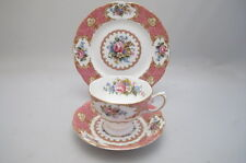 Royal Albert Lady Carlyle TRIO TAZZA PIATTINO PIATTO