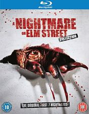 Nightmare on Elm Street 1-7 Blu Ray Box set Complete Part 1 2 3 4 5 6 7 Movies