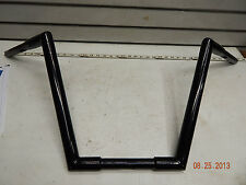 "Custom 1 1/4 14"" Ape Hanger Bars Handlebars Monkey Chopper Bobber Harley Black G"