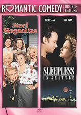 Steel Magnolias / Sleepless In Seattle Double Feature Sally Field  Free Ship!
