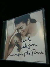 Remember the Time [Single] by Michael Jackson (CD, Feb-1992, Sony Music...