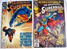 COMICS: DC - THE ADVENTURES OF SUPERMAN #503 & #506 -1993  1st Print