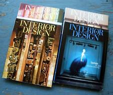 INTERIOR DESIGN Magazines February April May June 2008 Professional Reference