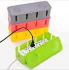 Socket Plug Cable Storage Box Wire Management Children Safety Tidy Home Solution