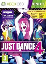 JUST DANCE 4                   -----   pour X-BOX 360