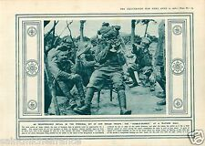 India Troops Hubble-Bubble /Cannon Gun Verdun France War WWI 14 18 PLANCHE 1916