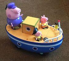 Peppa Pig Abuelo barco Con Sonidos.
