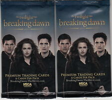 TWILIGHT BREAKING DAWN 2 PREMIUM TRADING CARDS 1 SEALED PACK - SALE