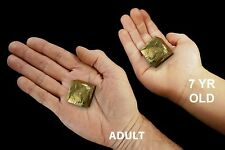 "Pyrite Cube Crystal 1"" 3-4 Oz Rock and Mineral Specimen Chakra Healing Stone"