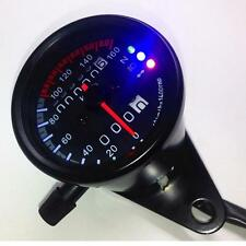 SALE! LED Backlight Signal Motorcycle Odometer KMH Speedometer Gauge Cafe Racer