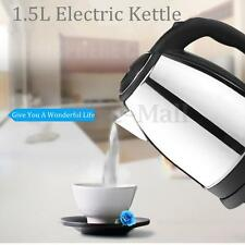 1.5L Stainless Steel Quick Heating Electric Tea Kettle Water Boiler Heater Pot