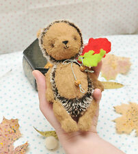 Mohair/ Viscose Hedgehog  Sewing Pattern ,7  Inch