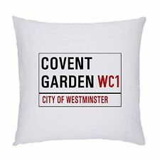 LONDON STREET SIGN  CUSHION / PILLOW 45 X 45CM.INC PADDING.COVENT GARDEN WC1