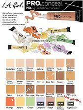 **PICK 3 Colors** LA Girl Pro Concealer High Definition Liquid Concealer