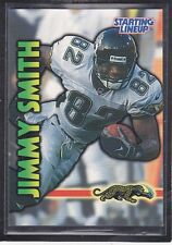 1999  JIMMY SMITH - Kenner Starting Lineup Card - Jacksonville Jags