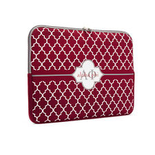 ALPHA PHI sorority neoprene laptop case sleeve
