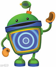 """9.5"""" TEAM UMIZOOMI BOT CHARACTER BIRTHDAY WALL DECOR CUT OUT"""