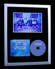 LAWSON+SIGNED+FRAMED+CHAPMAN SQUARE+TAKING OVER=100% AUTHENTIC+FAST GLOBAL SHIP