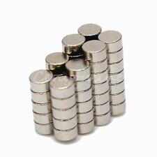 50X MAGNETI NEODIMIO 2x1 mm CALAMITA POTENTE FIMO CERAMICA MAGNETE CALAMITE N45